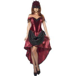 Disfraz vampiresa veneciana deluxe