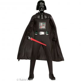 Disfraz darth vader con espada adulto