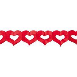 Guirnalda corazones 4 metros