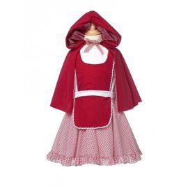 Disfraz Caperucita Roja deluxe inf