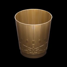 Vasos dorados deluxe pack 8 und