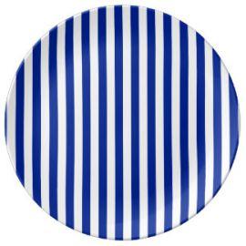 Platos lineas azules 18cm pack 8