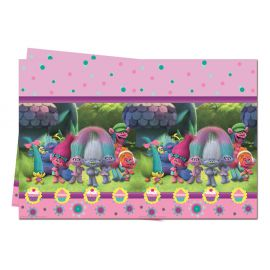 Mantel trolls plastico 120x180