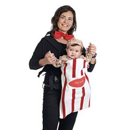 Disfraz bebe palomitas