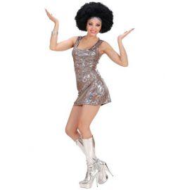 Disfraz disco chica