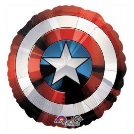 Globo helio escudo Capitán América