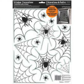 Decoracion cristales arañas