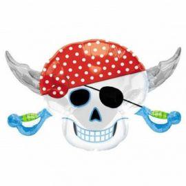Globo helio piratas