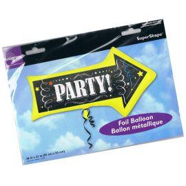 Globo helio flecha party