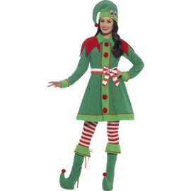 Disfraz miss elfa duende