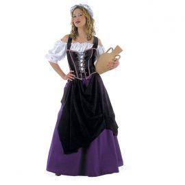 Disfraz tabernera medieval