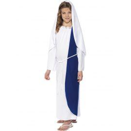 Disfraz Virgen Maria infantil clasico