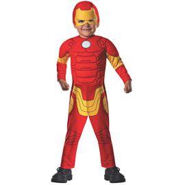 Disfraz Iron Man Deluxe para niños de 1-2 años