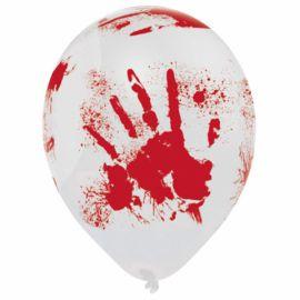 Globos manos sangrientas 6 und