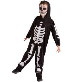 Disfraz esqueleto glow infantil