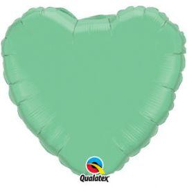 Globo helio corazon verde winter