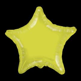 Globo helio estrella jumbo kiwi
