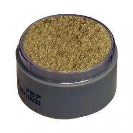 Maquillaje profesional al agua oro