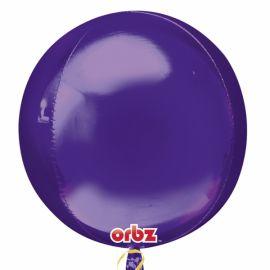 Globo helio esfera morada