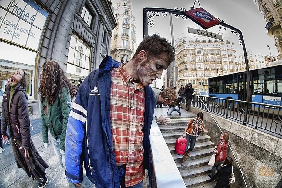 zombies, barullo, madrid, disfraces