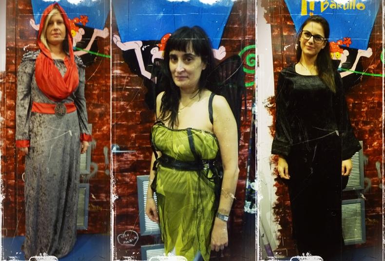 clientes con los disfraces mas vendidos en halloween barullo
