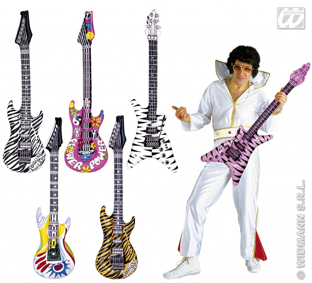 guitarras inflables