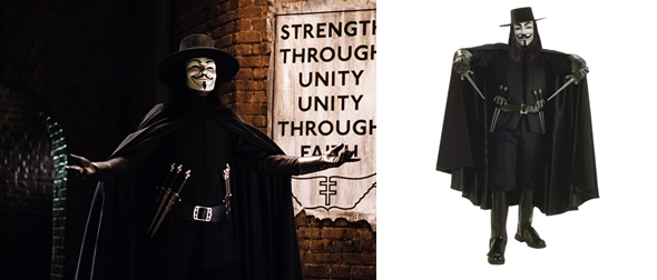 disfraz V de Vendetta para adulto