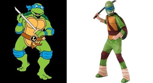 Disfraz de tortuga ninja leonardo