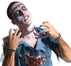 set-cremallera-sangrante-zombie
