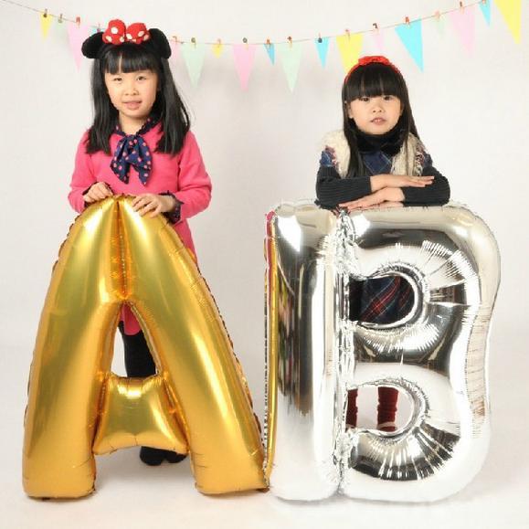 100-unid-oro-plata-números-letras-ABC-globo-de-la-hoja-bolas-del-año-nuevo-navidad