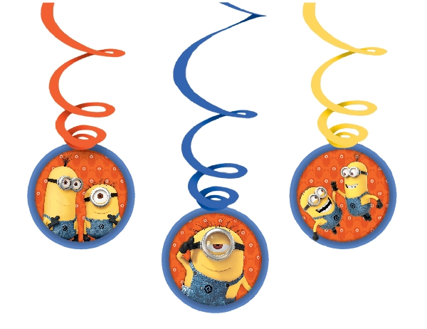 decoracion colgante minion