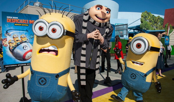 "Universal Studios Hollywood Celebrates The Premiere Of New 3D Ultra HD digital Animation Adventure ""Despicable Me Minion Mayhem"""