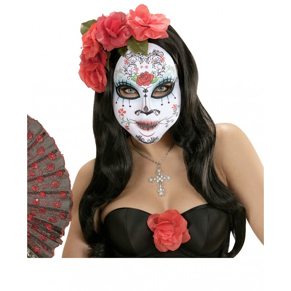 mascara-de-catrina-mexicana-decorada