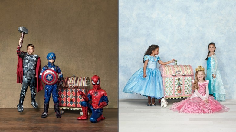 disfraces superheroes princesas