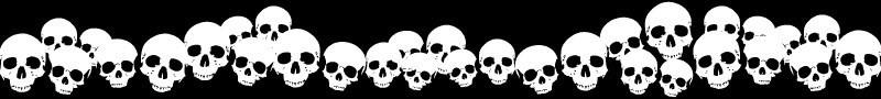 Skulls-banner