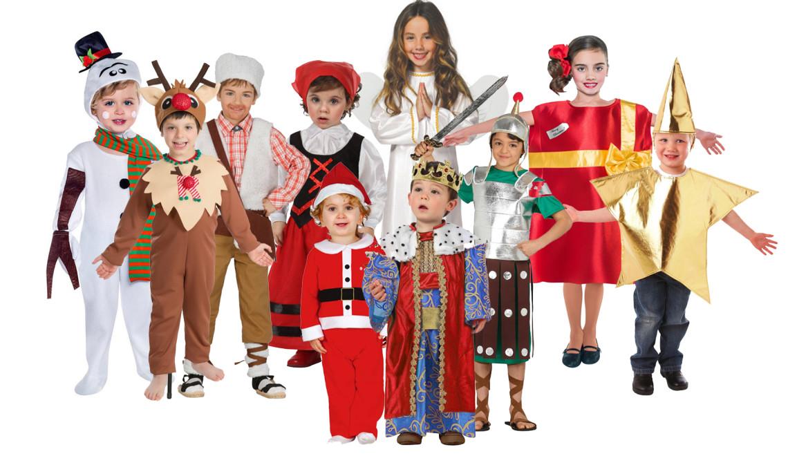 disfraces navidad niños
