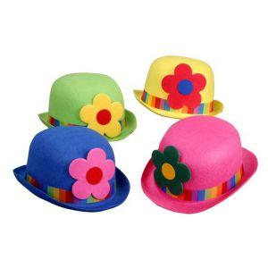 Sombrero bombin flor colores surt