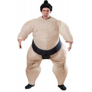 Disfraz luchador sumo hinchable