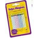 Velas magicas (10 uds)