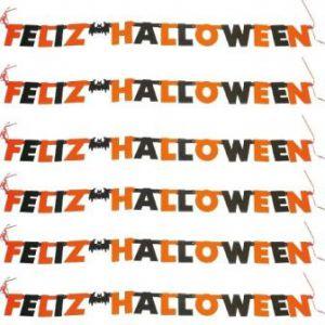 Guirnalda feliz hallowen