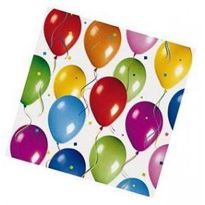 Servilletas globos (20 unid.)