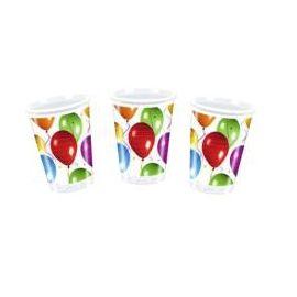 Vasos globos (10 unid.)