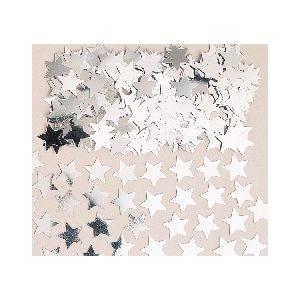 Confetti estrellas plata 14 gr.