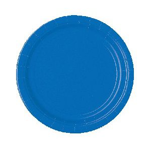 Platos azul marino 22,5 cm (10 unid.)