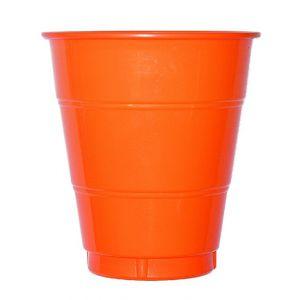 Vaso grande naranja (10 unid.)