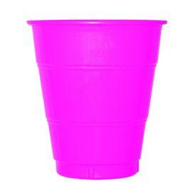 Vaso grande fucsia (10 unid.)