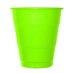 Vaso grande lima (10 unid.)