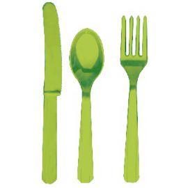 Tenedores lima (10 unid)