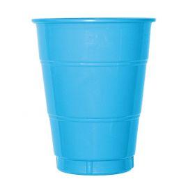 Vaso grande azul caribe (10 unid)
