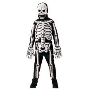 Disfraz esqueleto relieve 8-10 años